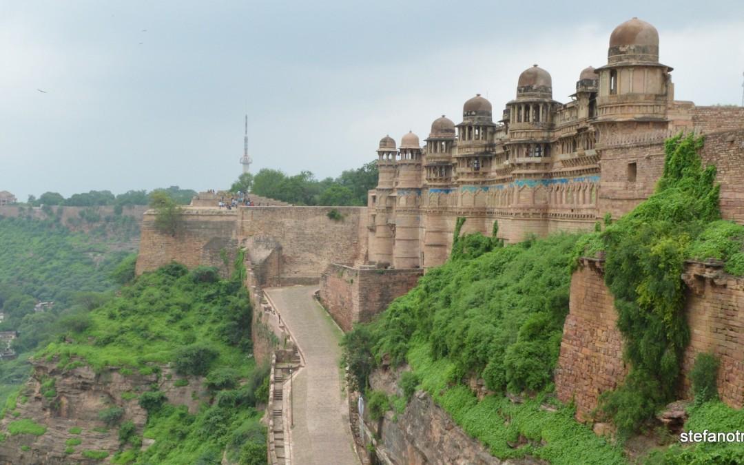 La rocca di Gwalior – 24 luglio 2015