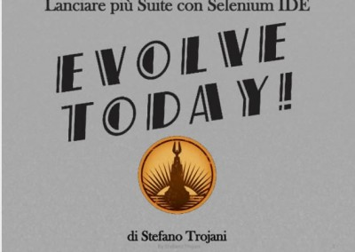 Suite di test automatici in Selenium