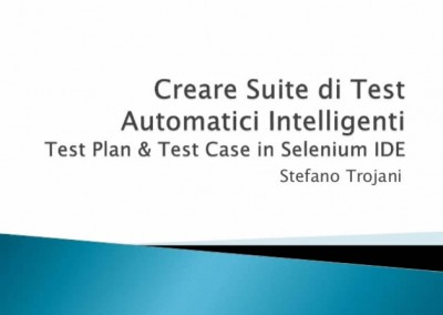 Creare un Test Plan